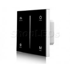 Панель SMART-P6-DIM-G-IN Black (12-24V, 4x3A, Sens, 2.4G) (ARL, IP20 Пластик, 5 лет)