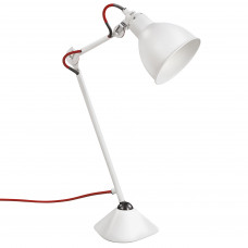 765916 (MТ1201802-1А) Настольная лампа LOFT 1х40W E14 белый (в комплекте)